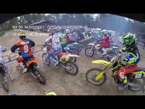 ONK MX 50 Nunspeet 2019 1e manche 50cc