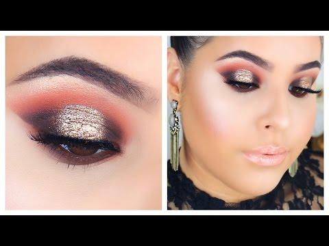 Summer Bronzed Smokey Eye Tutorial | Nelly Toledo
