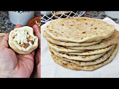 Filled Soft Flour Tortillas Recipe | Tortillas De Harina Rellenas