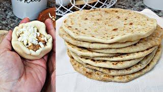 Filled Soft Flour Tortillas Recipe   Tortillas De Harina Rellenas