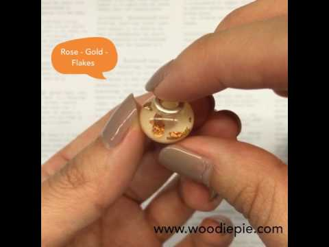 Woodie Pie Breastmilk Jewelries - Passion Island Charm