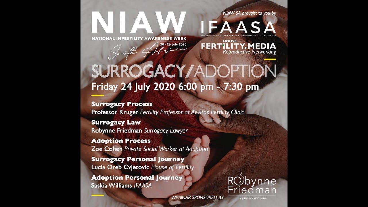 SURROGACY AND ADOPTION NIAW WEBINAR 2020