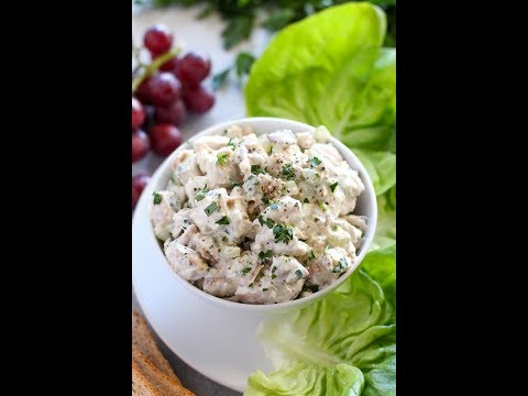 Reduced-Calorie Chicken Salad With Grapes