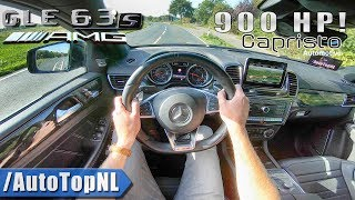 900HP Mercedes GLE 63 S AMG Coupe STRAIGHT PIPE Capristo EXHAUST POV Test Drive by AutoTopNL thumbnail