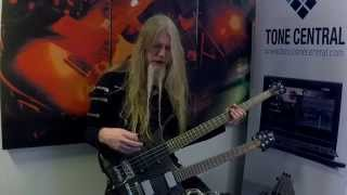 Marco talks about his bass sound and how he used ME-50B in the stud...