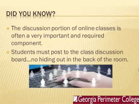 Online Classes at GPC