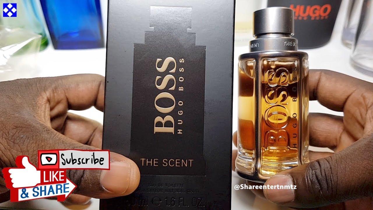Hugo Boss Boss The Scent Eau De Toilette For Him Unboxing Youtube