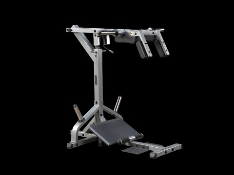 bodysolid leverage squat calf machine gscl360 youtube