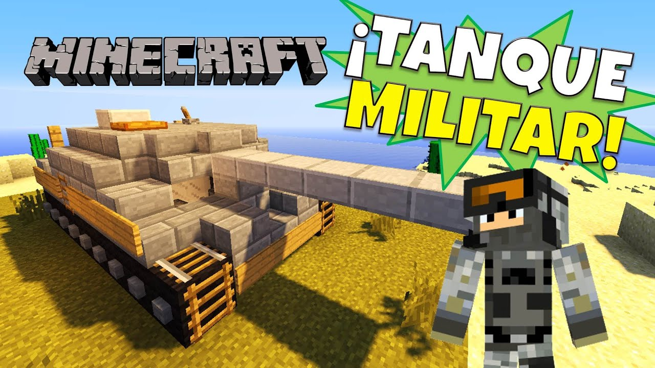 Minecraft como hacer un tanque tank super tutorial for Casa moderna rey zerch