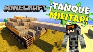 Minecraft: Como hacer un Tanque (Tank), Super Tutorial, Sin Mods.