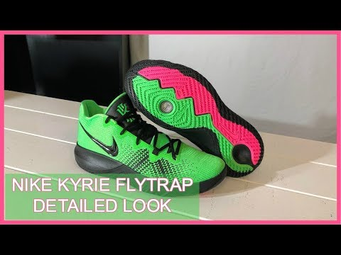 1631b9fe256 Nike Kyrie Flytrap Green Detailed Look and Review - YouTube