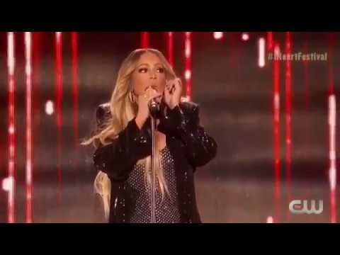 Mariah Carey Singing LIVE GTFO (Her New Song) at iHeartRadio Music Festival