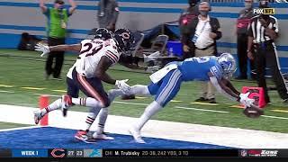 D'Andre Swift Drops Game-Winning Touchdown Catch | Bears vs. Lions | NFL Week 1