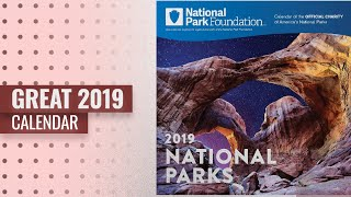 Top 10 2019 Calendars You've Got To See / Happy New Year 2019!: 2019 National Park Foundation Wall