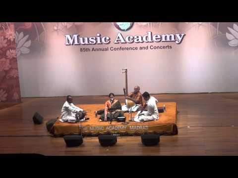 Vandana Kottapalli Madras Music Academy-reetigowla