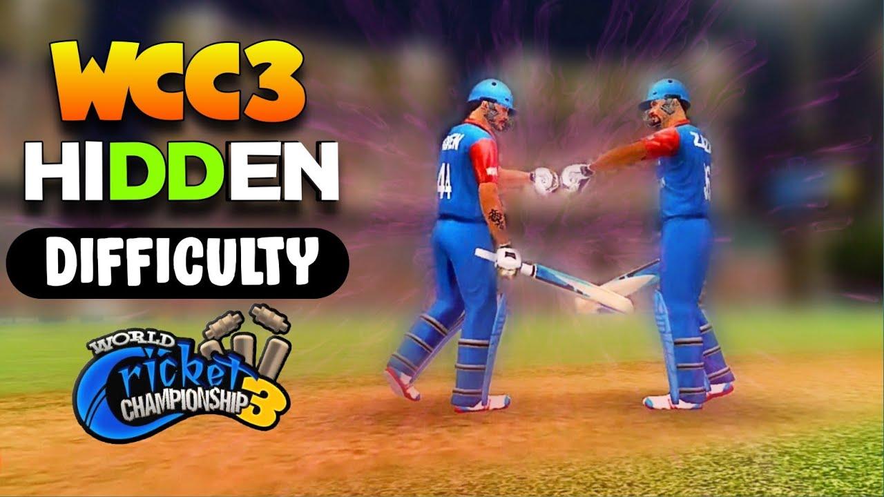 🔥 WCC3 Batting, Bowling Hidden Difficulty ! Full Explain !!