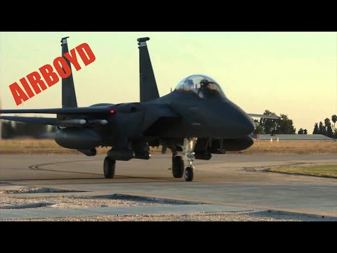 F-15s Arriving Incirlik Air Base