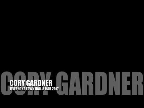 Cory Gardner Telephone Town Hall  Mar 8 2017
