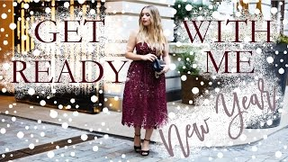 New Years Eve Get Ready With Me 2016 | Hello October