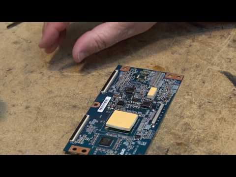 Sony KDL37XBR6 Part 2 TCON board repair to component level