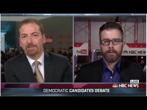Chuck Todd disbelief at Bernie Sanders Google Searches Across USA