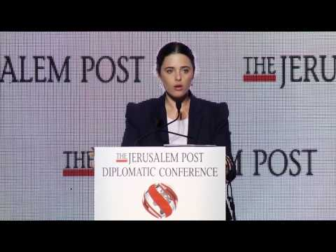 Jerusalem Post Diplomatic Conference Ayelet Shaked