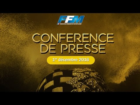 Conférence de Presse FFM 2016