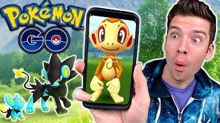 Catching NEW Gen 4 Pokemon in Pokemon Go!