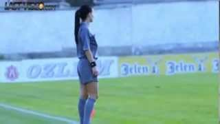 aleksandra milojevic sexiest soccer referee in the world