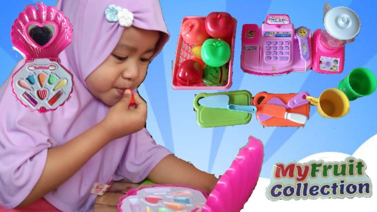 Download DRAMA ANAK LUCU 💜 PENJUAL JUS BUAH CENTIL | Mainan Anak Perempuan Blender Pink | Alfira Zahra