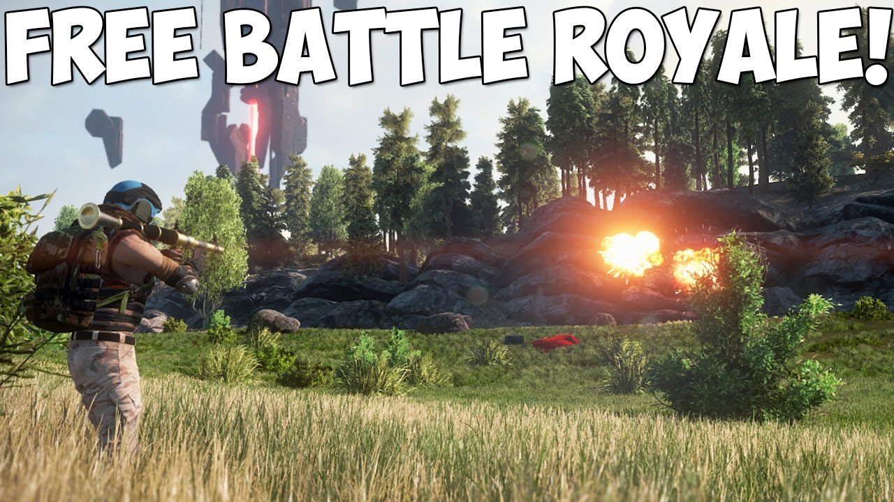 Free To Play Battle Royale Games