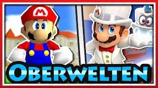 Oberwelten in Super Mario Spielen!