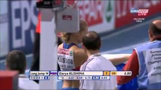 Paris 2011 Long Jump Women (Darya Klishina 1st place)