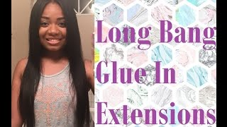 Long Bang Using Hair Extensions | Proclaim Super Bond Hair Glue