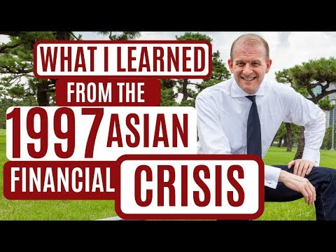 What I learned from the 1997 Asian Financial Crisis