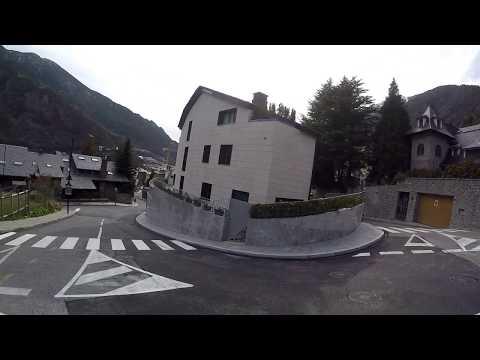 Andorra la vella zona alta(andorra)