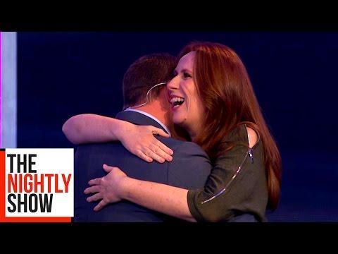 Catherine Tate HATES Hugging
