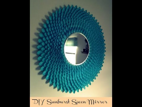 HOW TO MAKE BEST OUT OF WASTE || DIY SPOON MIRROR || CRAFT VIDEO