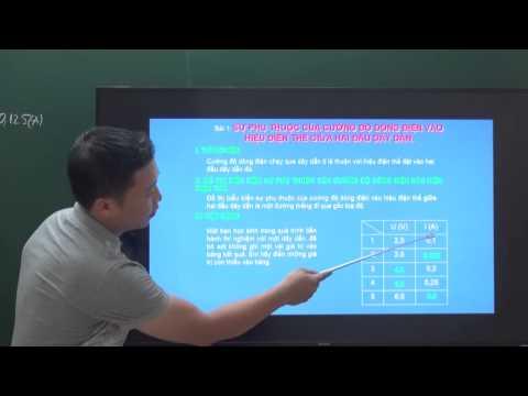 Vật lí 9 - Sự phụ thuộc của cường độ dòng điên
