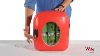 vivitar 12 can mini fridge