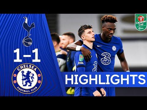 Tottenham Hotspur 1-1 Chelsea (5-4 pens) | Carabao Cup Highlights