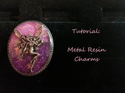 [TUTORIAL] Metal Resin Charms