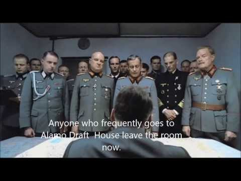 Hitler is kicked out of the Alamo Draft House