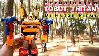 Petualangan Tobot Tritan Di Hutan Pinus | Mainan Anak Tobot X Y Z Tritan Indonesia