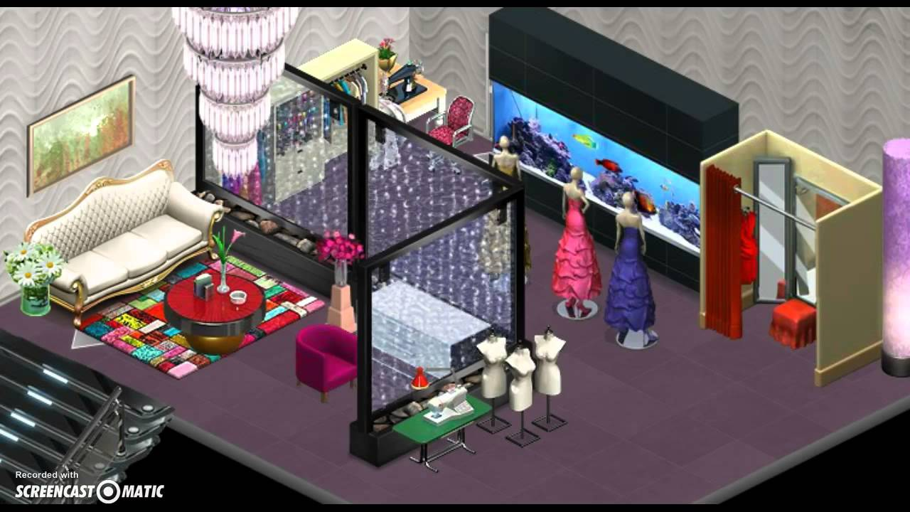 YoWorld~How to make Trailer Living Room to a Luxury. - YouTube