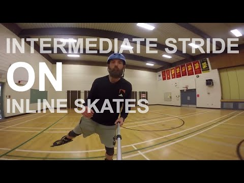 BASIC TO INTERMEDIATE STRIDE - IMPROVE YOUR INLINE SKATING STRIDE