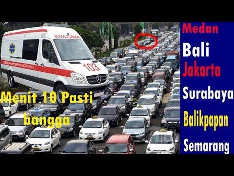 Reaksi Pengendara di Berbagai Kota Indonesia Ketika Mendengar Sirine Ambulan Mp3