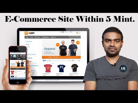 How to make e-Commerce website in 5 minutes - Start Awesome Series