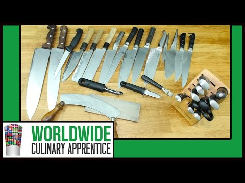 Learn basic knife skills using the right knife - How to Hold and use a Cooking Knife