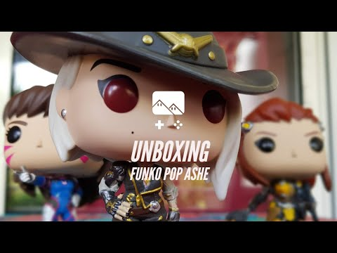 📦 Unboxing : Figurine Ashe Funko Pop! (Collection Overwatch)